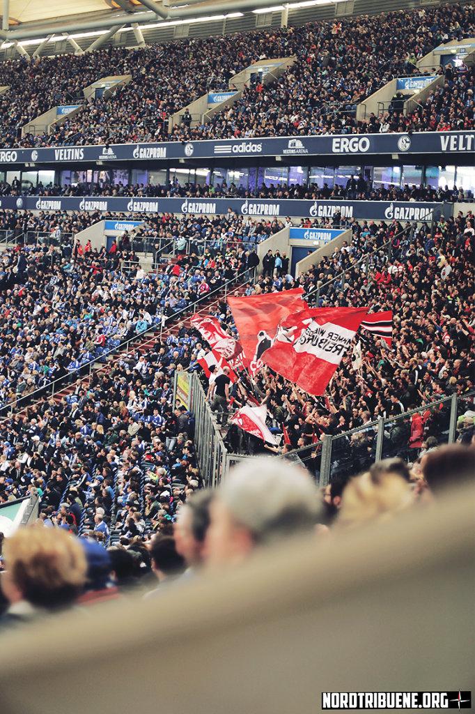 Schalke 04 - SC Freiburg (0:0) / 28. Spieltag, 1. Bundesliga