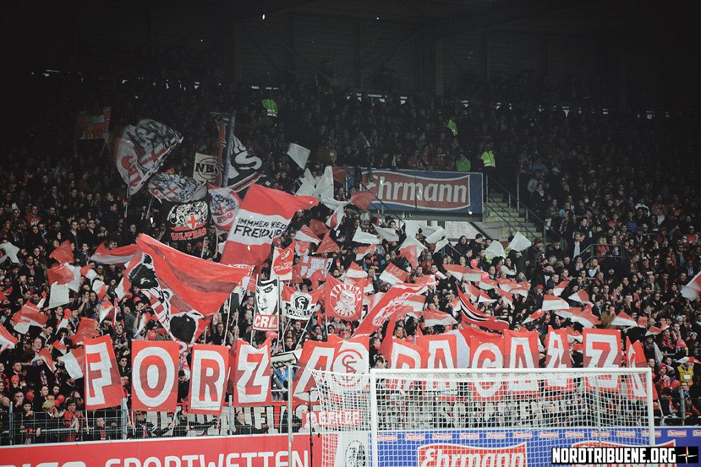 SC Freiburg - FC Augsburg (1:0) / 26. Spieltag, 1. Bundesliga