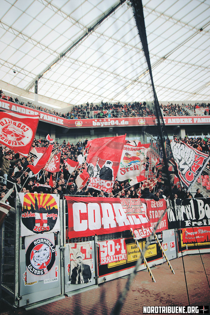 Bayer Leverkusen - SC Freiburg (1:0) / 23. Spieltag, 1. Bundesliga