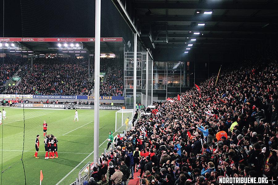 SC Freiburg - Karlsruher SC (1:0) / 27. Spieltag, 2. Bundesliga