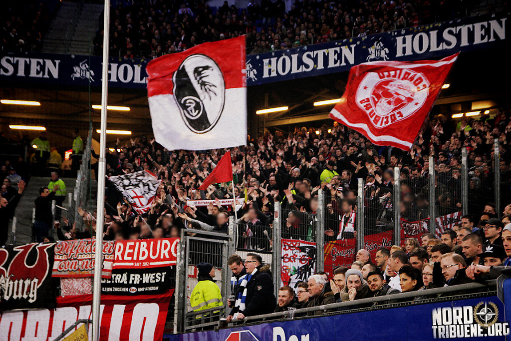 Hamburger SV - SC Freiburg (1:1) / 27. Spieltag, 1. Bundesliga