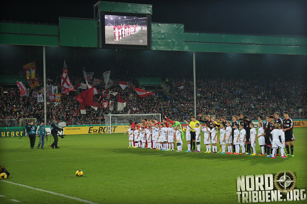SC Freiburg - Bayer Leverkusen (1:2) / Achtelfinale, DFB-Pokal