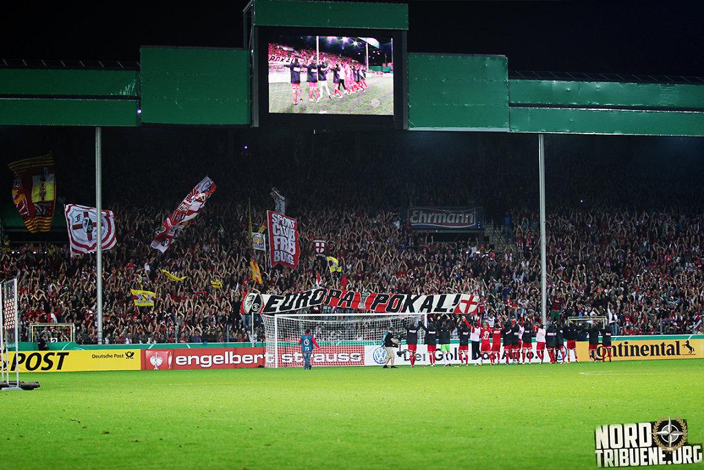 SC Freiburg - VfB Stuttgart (2:1) / 2. Runde, DFB-Pokal