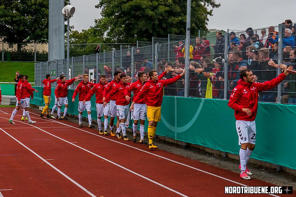 VfB Germania Halberstadt - SC Freiburg (1-2) / 1. Runde, DFB-Pokal