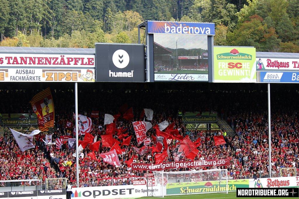 SC Freiburg - Hoffenheim (3:2) / 7. Spieltag, 1. Bundesliga 01.10.2017