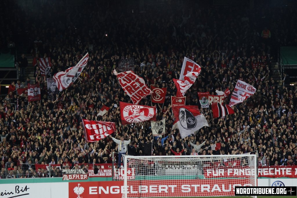 SC Freiburg - Dynamo Dresden (3:1) / 2. Runde, DFB-Pokal