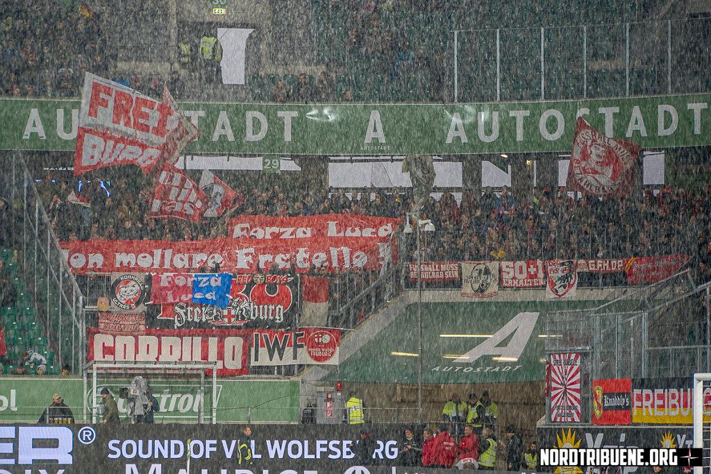 VFL Wolfsburg - SC Freiburg (3:1)  / 12. Spieltag, 1. Bundesliga 18.11.2017