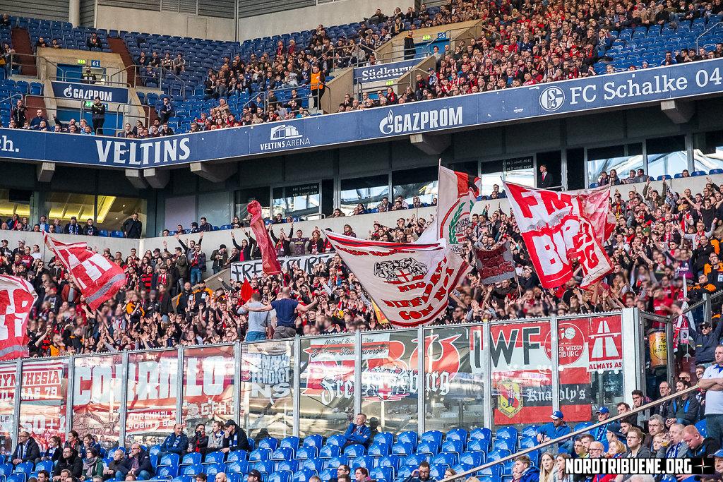 FC Schalke 04 - SC Freiburg (0:0) / 22. Spieltag, 1. Bundesliga