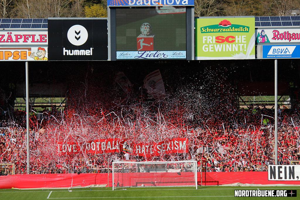 SC Freiburg - FC Bayern München (1:1) / 27. Spieltag, 1. Bundesliga