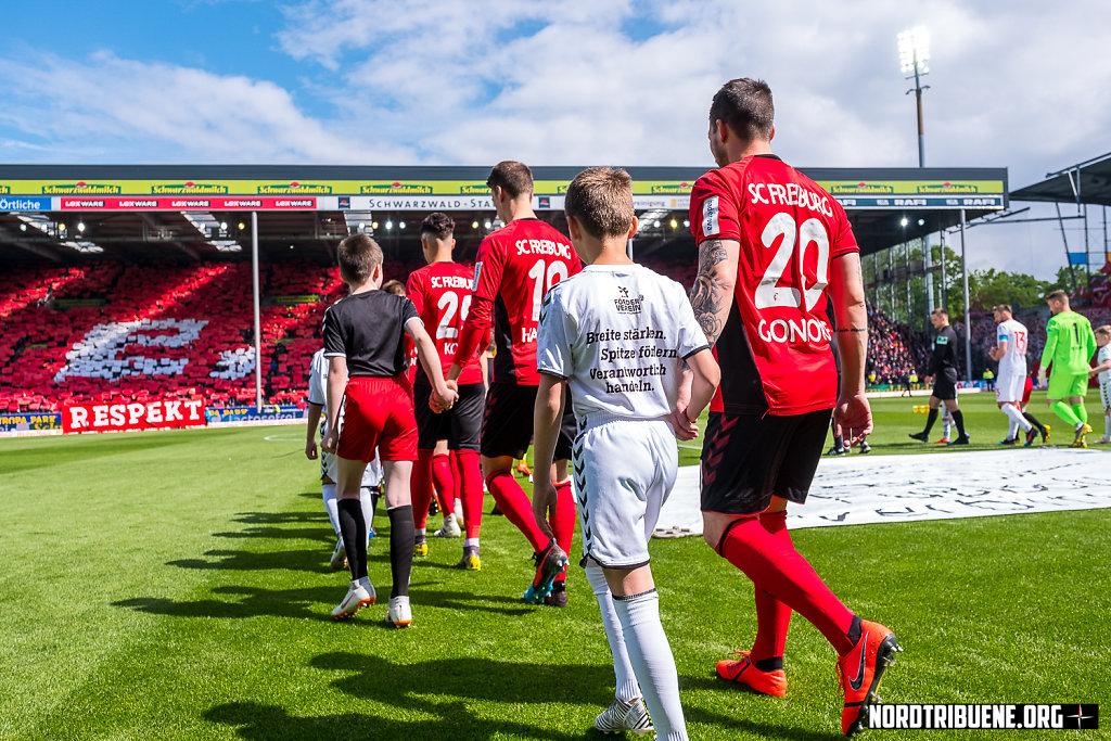 SC Freiburg - Fortuna Düsseldorf (1:1) / 32. Spieltag, 1. Bundesliga